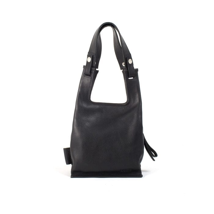 LUMI Eco Supermarket Bag X-Small, in black.