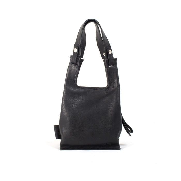 LUMI Eco Supermarket Bag X-Small, in black.