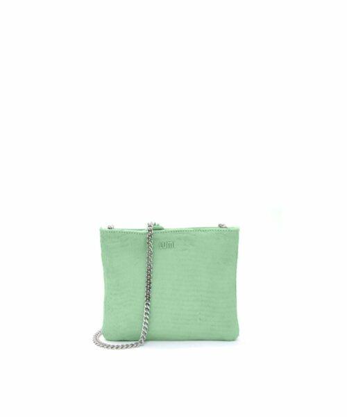 Laura Envelope Clutch Green