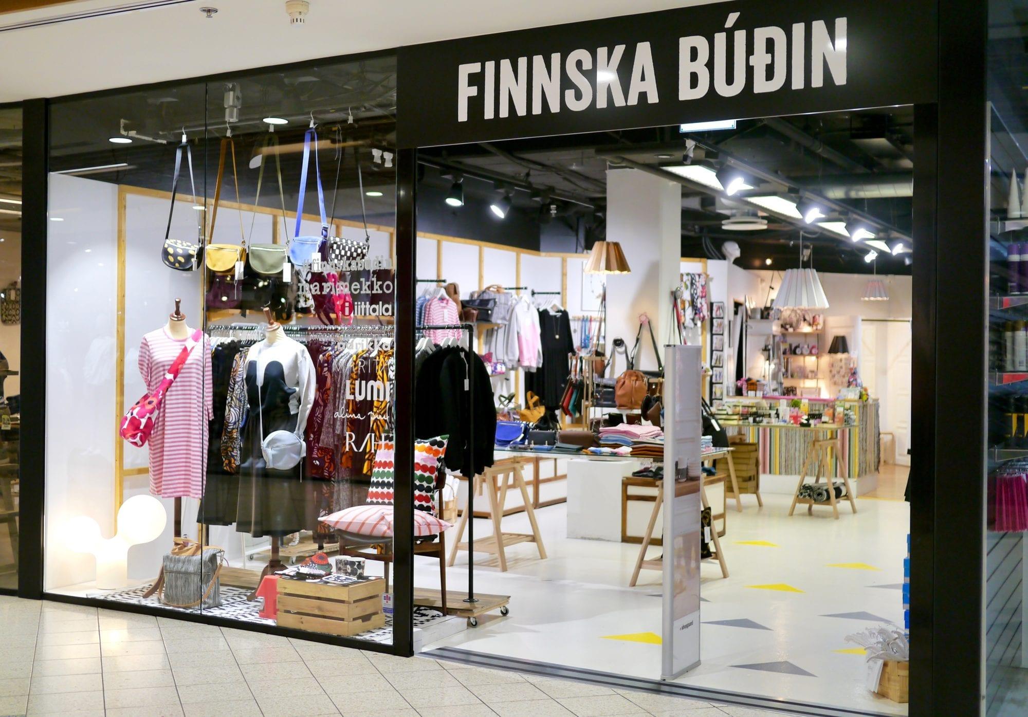 LUMI retailer of the month is Finnska Budin in Reykjavik, Iceland