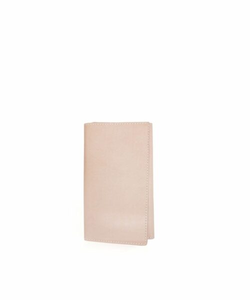 LUMI Karl Passport Wallet is created using natural vegetable tanned cow leather.