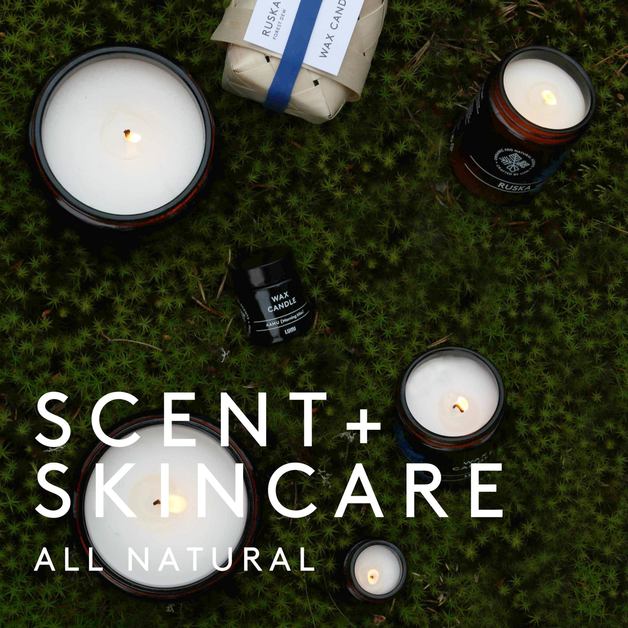 LUMI Scent + Skincare is all about natural ingredients.