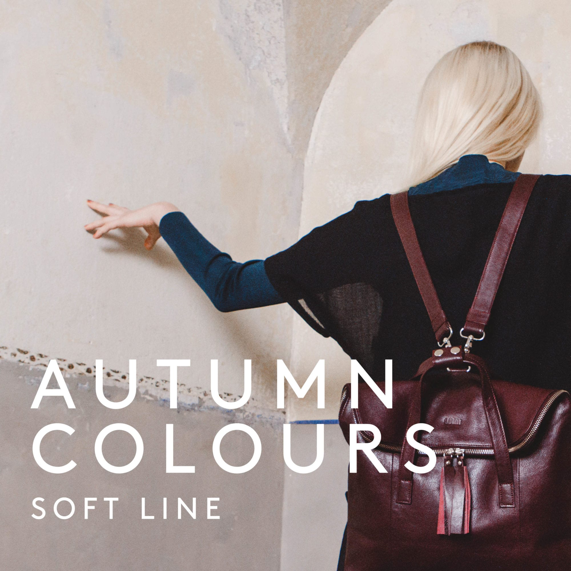 New autumnal colours for LUMI Soft Line handbags and accessories.