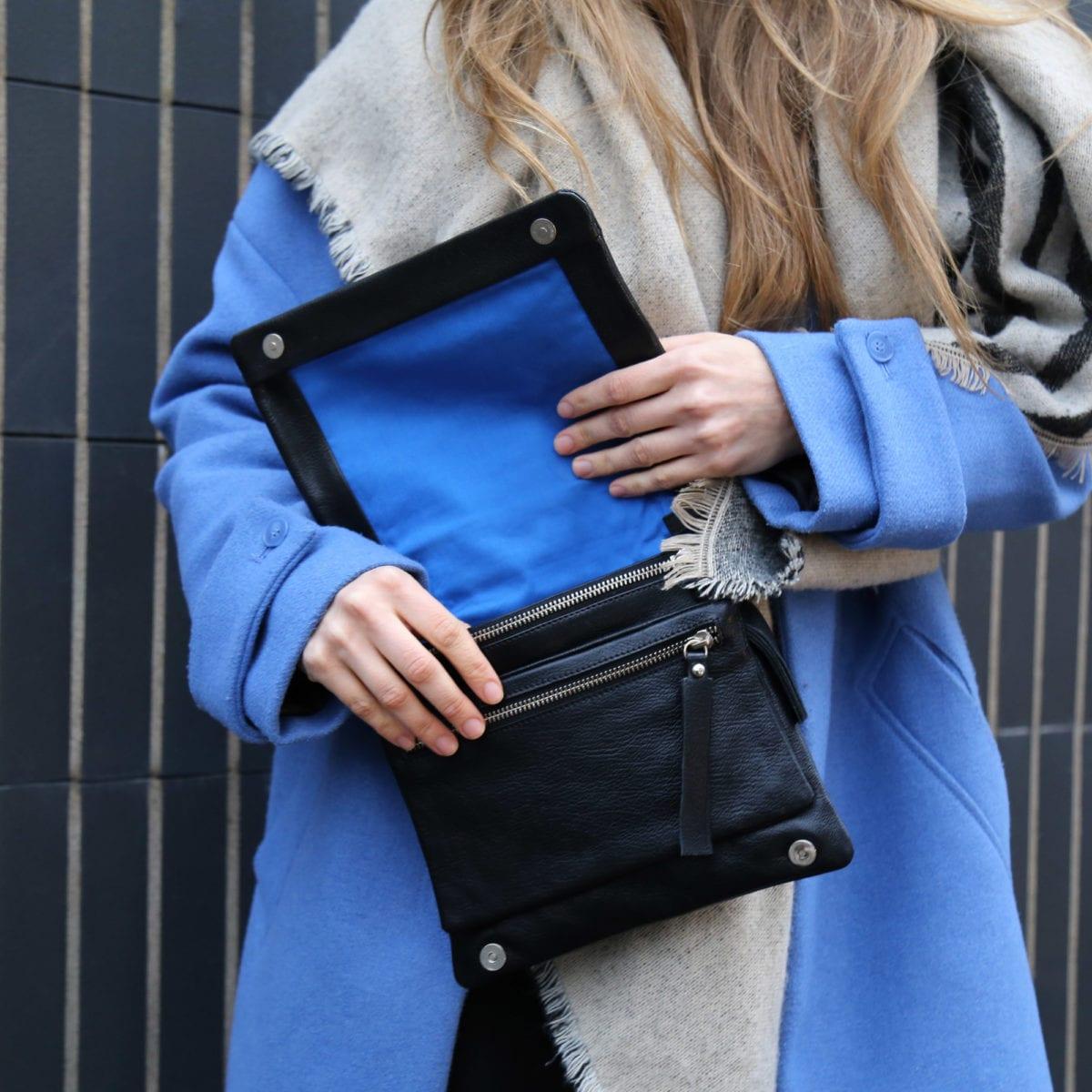 LUMI Anni Pocket Bag Black from Soft Line