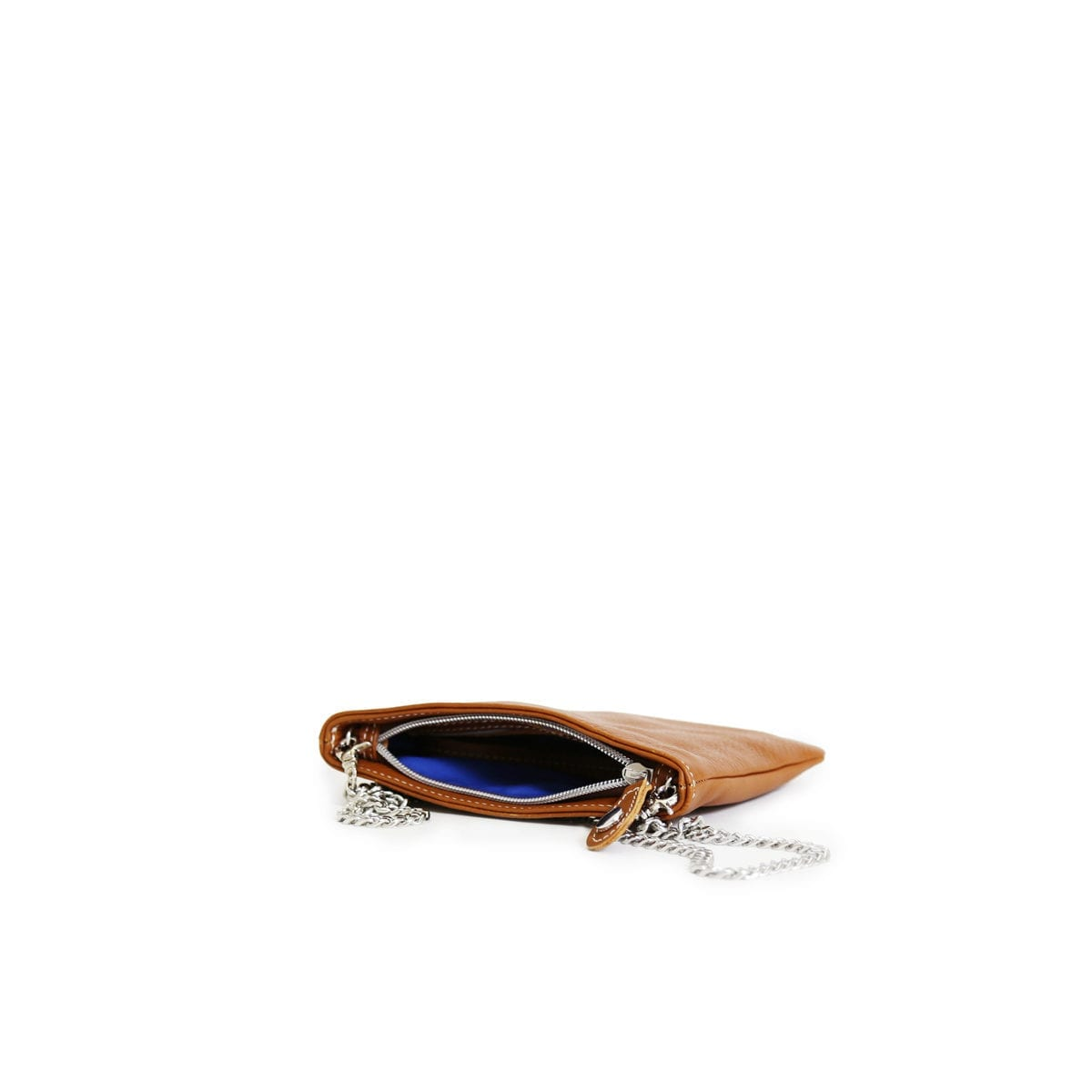 LUMI Laura Envelope Clutch in timeless and elegant toffee colour.