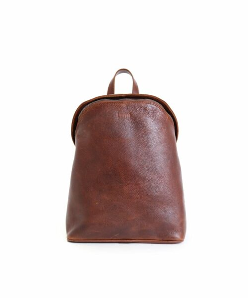 LUMI Tapio Backpack, in beautiful brown toffee, is all about urban functionality.