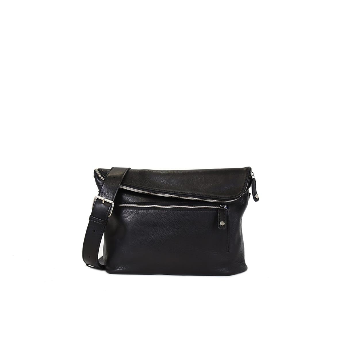 a0188b0cbd44b0 Tomi Small Messenger Bag Black – Lumi Accessories