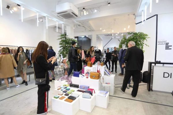 Lumi Accessories at pop up store in Shanghai organized by FinPro and DFO International