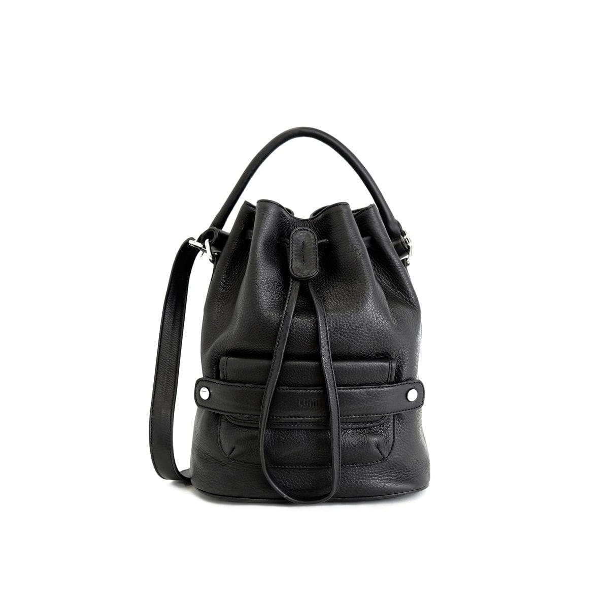 82a0598752 Katariina Large Bucket Bag Black – Lumi Accessories