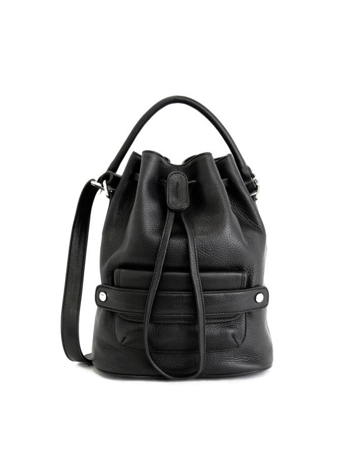 Katariina Large Bucket Bag Black