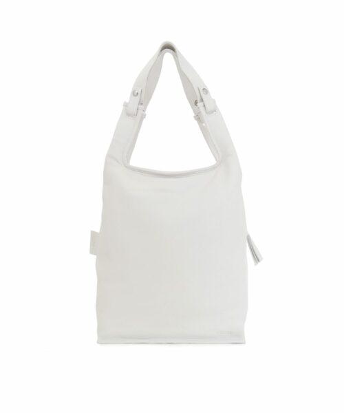 LUMI Large Supermarket Bag in Ice White