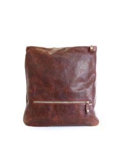 LUMI Oskar Backpack in toffee brown.