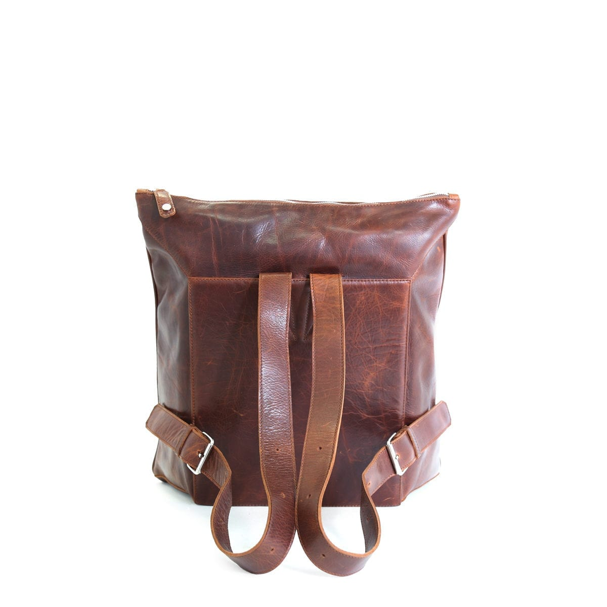 LUMI Oskar Backpack in toffee brown.