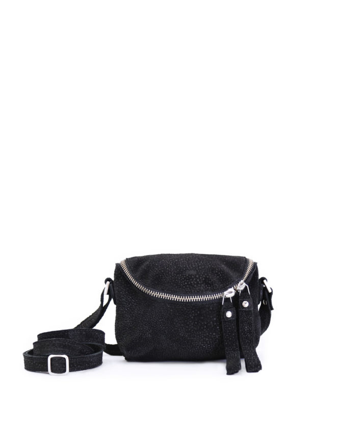 ROSITA MICROBAG BUBBLES BLACK
