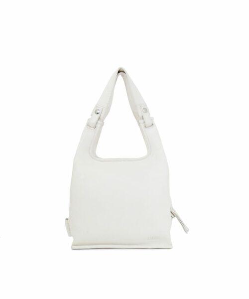LUMI Small Supermarket Bag in Ice White