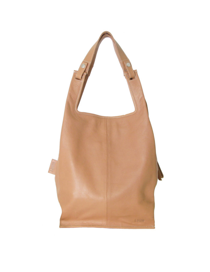 LUMI Supermarket Bag Large in Sand colour is great daily essential for both business and pleasure.