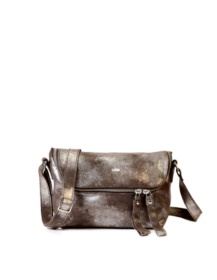 LUMI Rita Mini Bag, in brown/silver, is from our Limited Edition. Rita makes a perfect daily accessory for any occasion.
