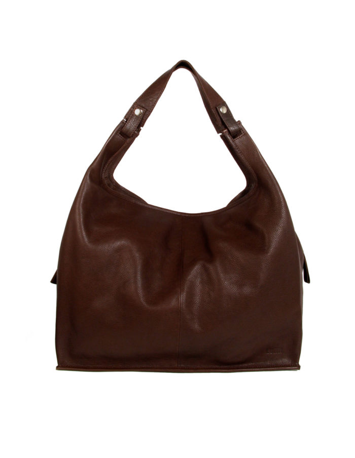 LUMI XXL Supermarket Bag in beautiful Brown colour.