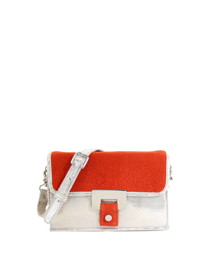 Pauliina Limited Edition Day to Evening Bag in coral.