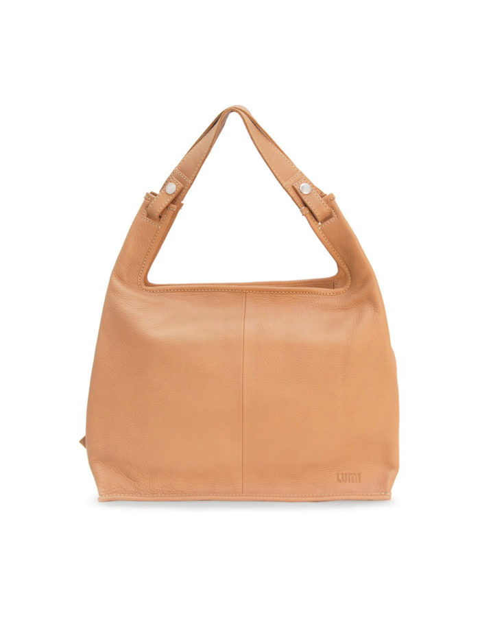 LUMI Supermarket Bag Sand XL is great daily essential for both business and pleasure.