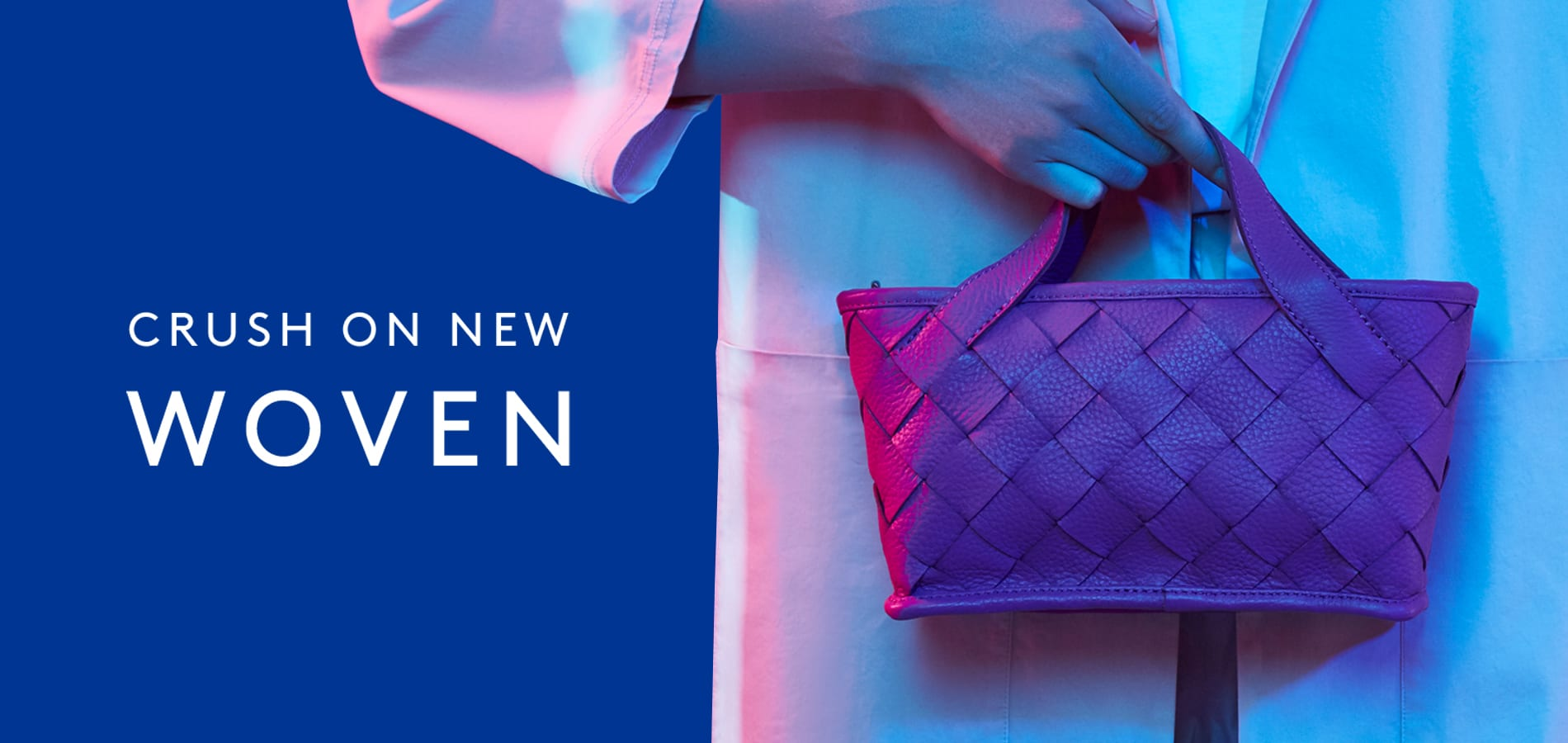 LUMI Woven collection includes styles from classic daily essentials to business bags.
