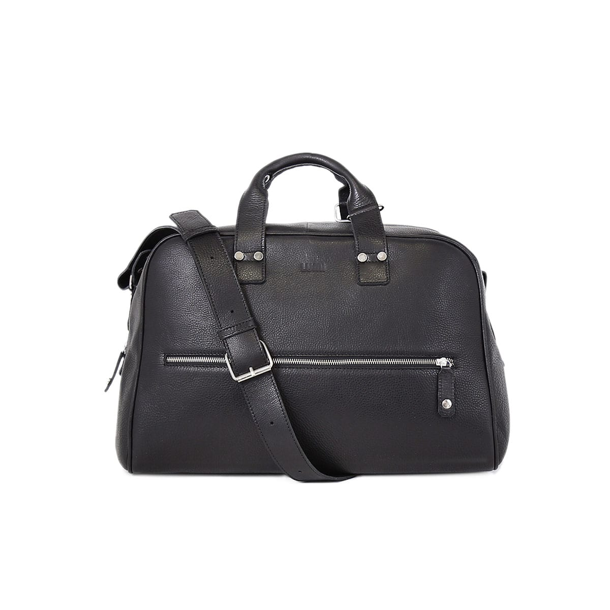 54ef3a11b46d LUMI Kristian Weekender Bag in black. This roomy and handsome weekender bag  fits all you