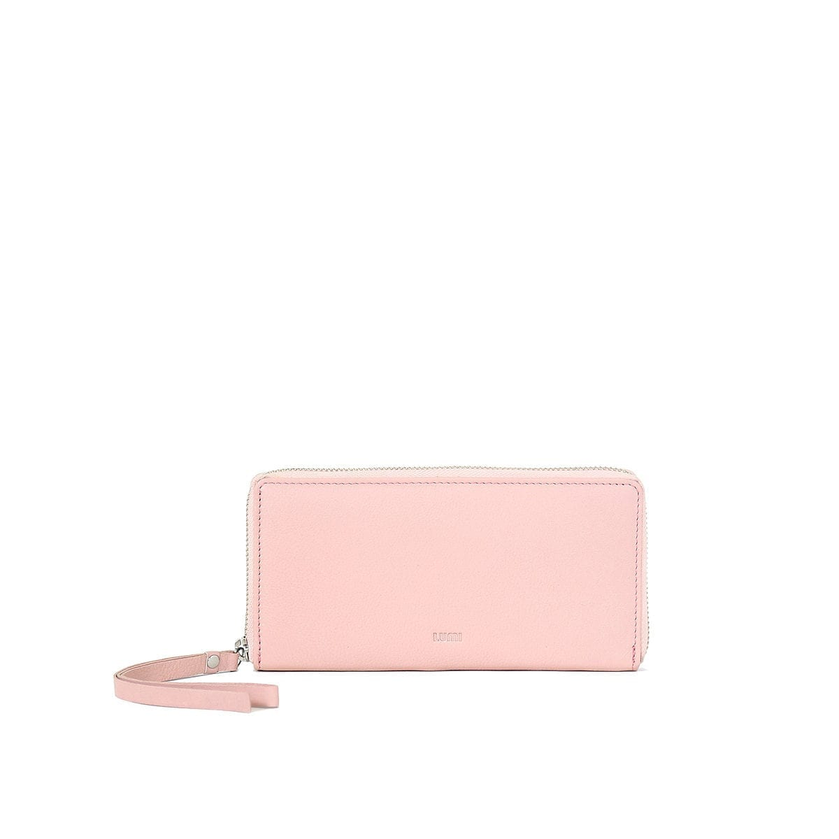 LUMI Large Ziparound Walet in Light Pink