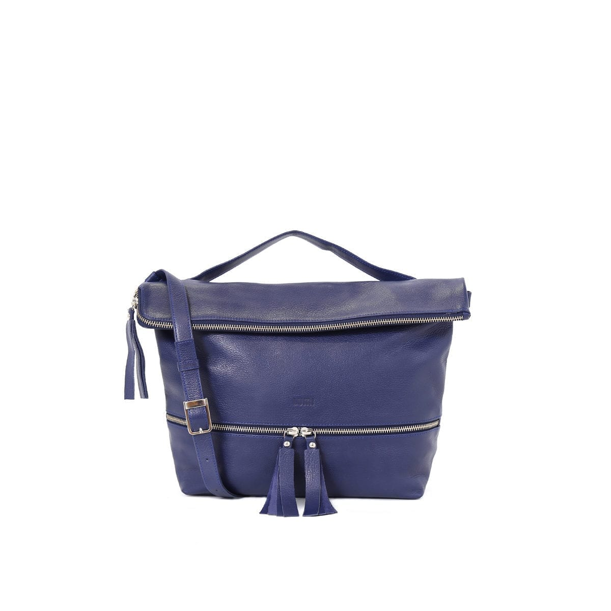 Lyydia Shoulder Bag in ocean blue.