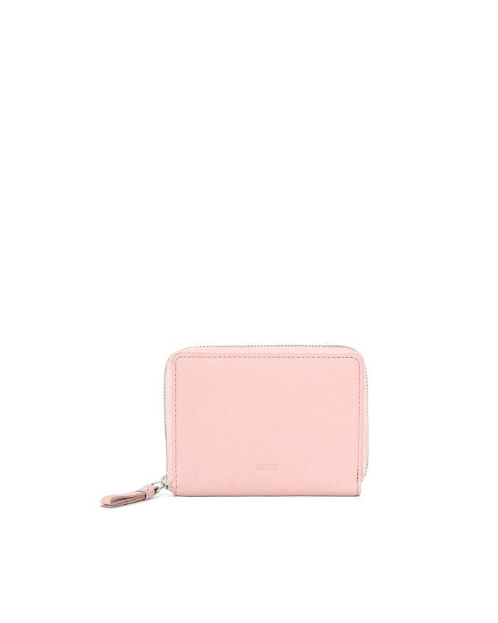 LUMI Medium Ziparound Walet in Light Pink