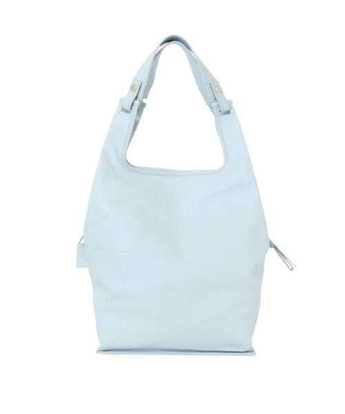LUMI Light Supermarket Bag Large in fresh and soft light blue. You will love it as your go-to bag for your everyday adventures – it's lightweight, roomy and functional. All Supermarket Bags come with exchangeable short handles and a long strap to carry on shoulder or cross body.