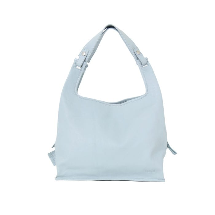 LUMI Light Supermarket Bag X-Large in beautiful light blue.