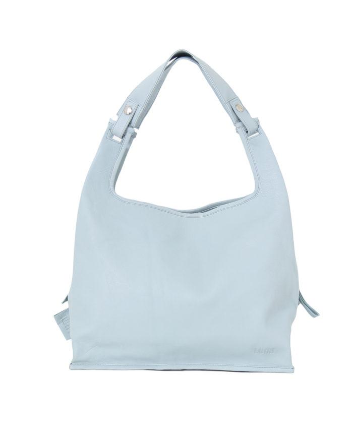 LUMI Light Supermarket Bag X-Large in beautiful light blue.