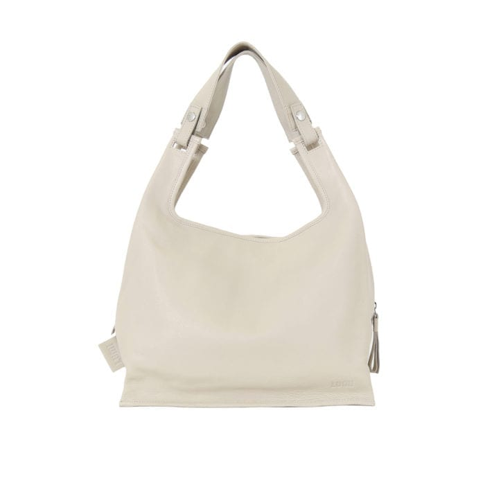 LUMI Light Supermarket Bag X-Large beautiful light taupe.