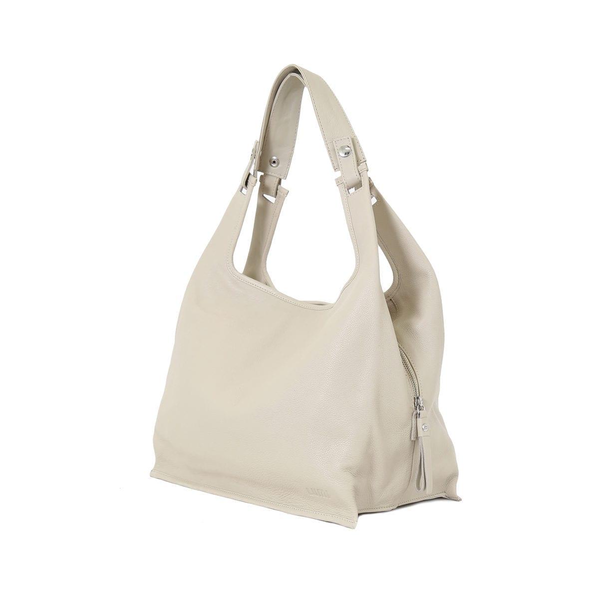 LUMI Light Supermarket Bag X-Large beautiful light taupe.
