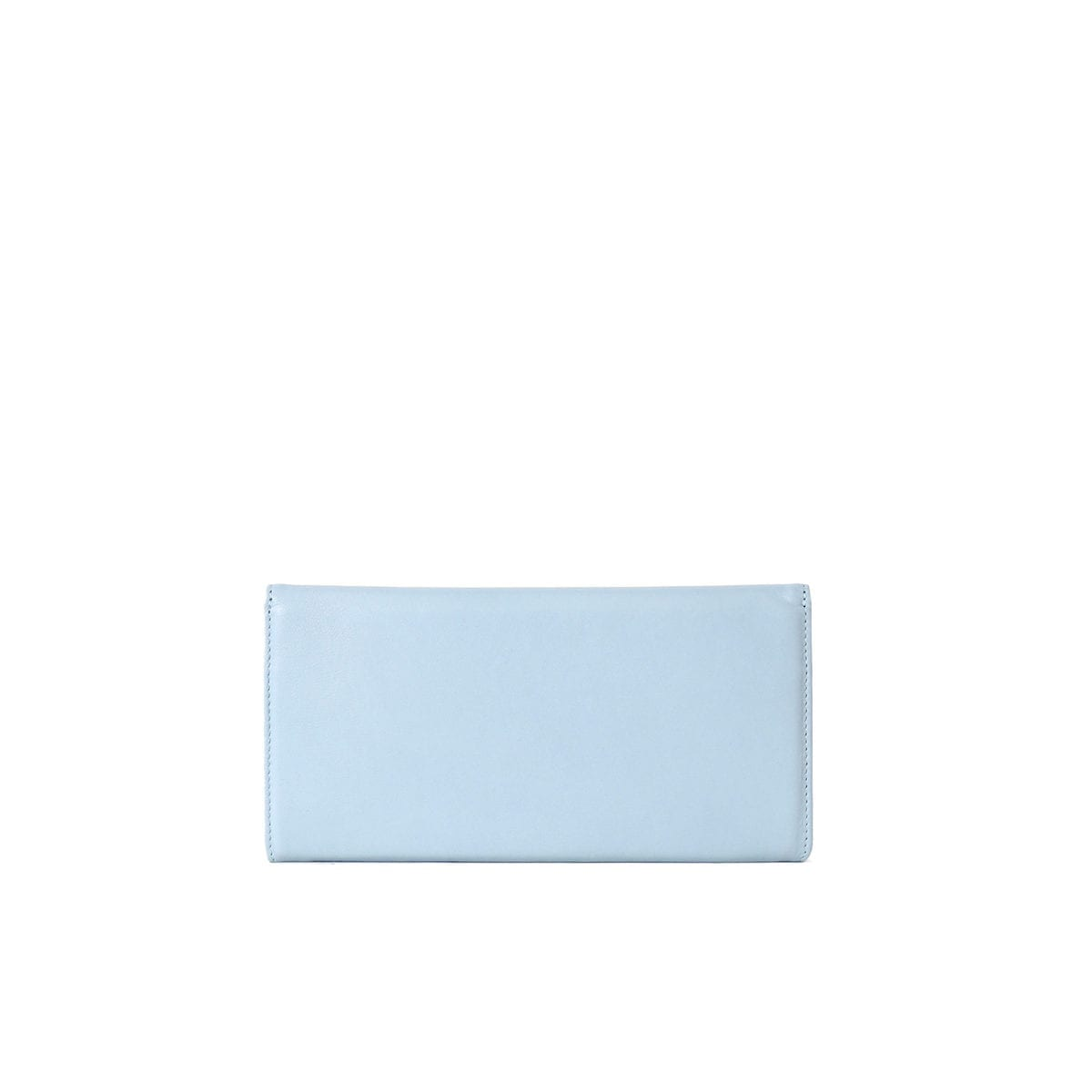 LUMI Talvikki Envelope Wallet in pretty baby blue and baby pink combo. This wallet is perfect for daily use to safe-keep your cards and cash. Or use it as a clutch with your evening wear. The wallet is handmade from lovely and soft sheep napa leather, which makes it beautiful to hold in your hand.