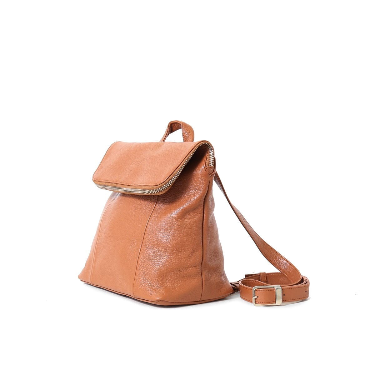 LUMI Sarita Mini Backpack Cognac.