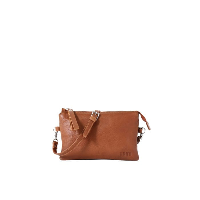 LUMI Venla All-in-one Pouch in Cognac