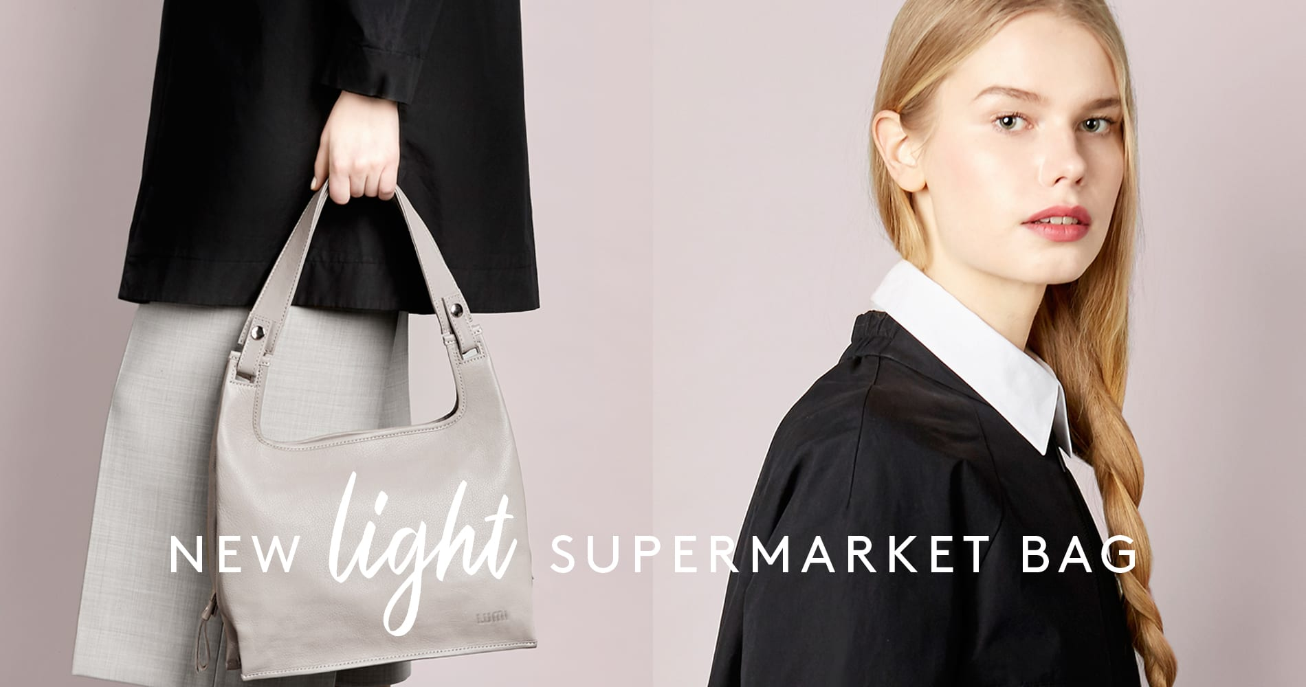 Introducing New Supermarket Bag Light in lovely soft and smooth lightweight leather.