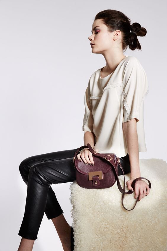 LUMI Olivia Mini Saddler bag was launched in FW14 collection.
