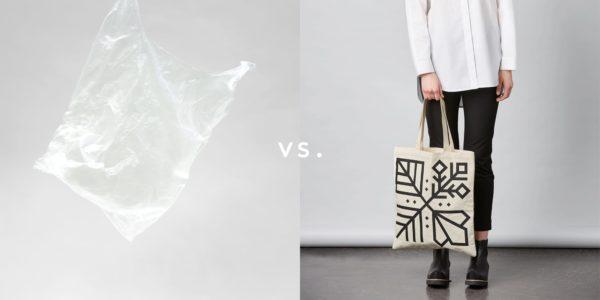 Ban the plastic bag! Adopt your reusable bag now!