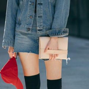 LUMI spotted on Seoul Fashion Week in Korea. Photo via LUMI Korea.