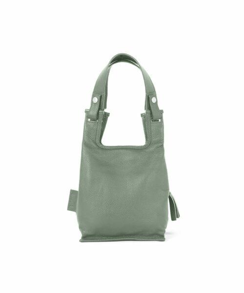 Supermarket Bag XS in lichen green.