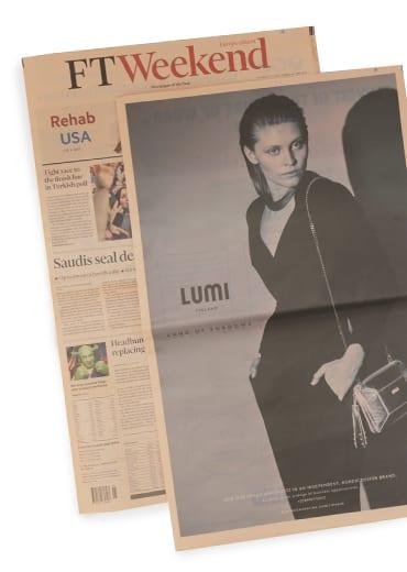 LUMI on Financial Times Weekend 23. June 2018.