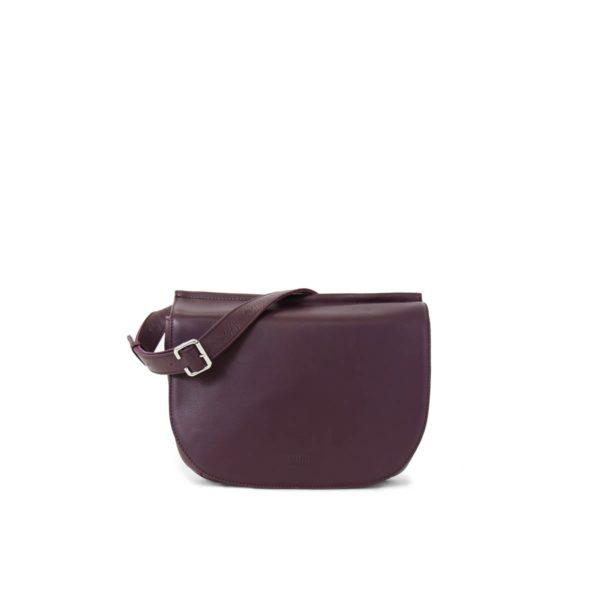 Laila Flat Cross Body Bag Grape.