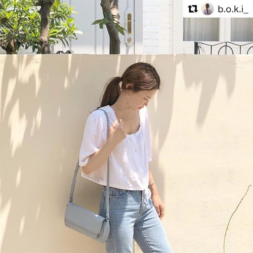 Korean influencer b.o.k.i_ with LUMI Soft Line