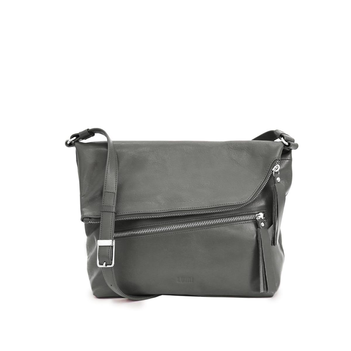 b1101b2a96 Manna Messenger Bag Grey – Lumi Accessories