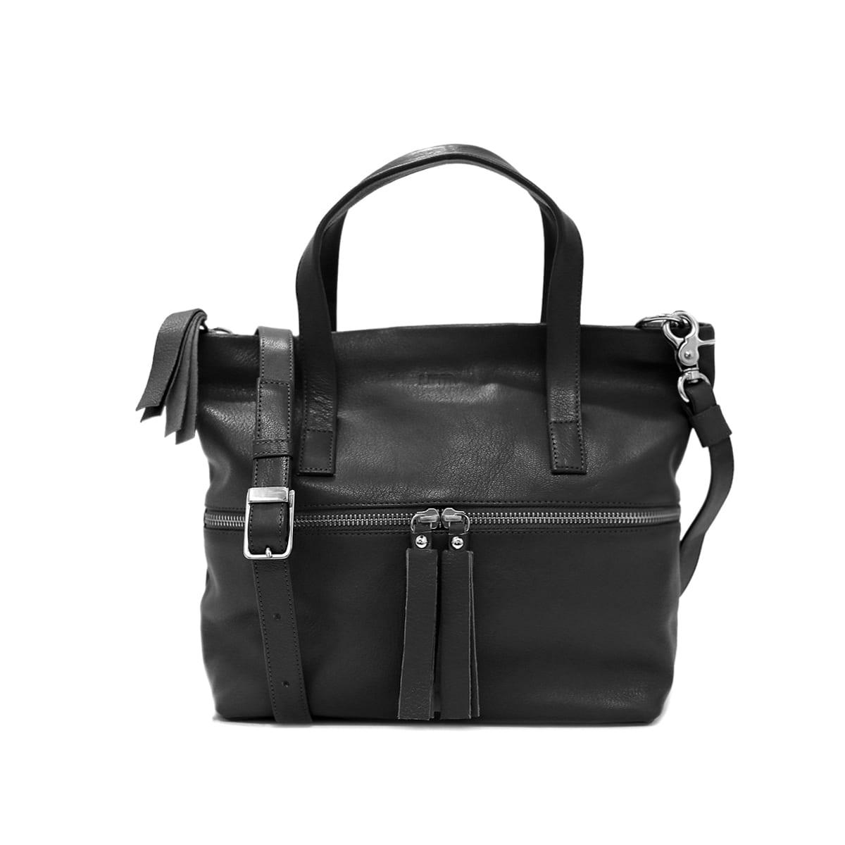 a360c5ddd4987 Molla Small Tote Bag Black – Lumi Accessories
