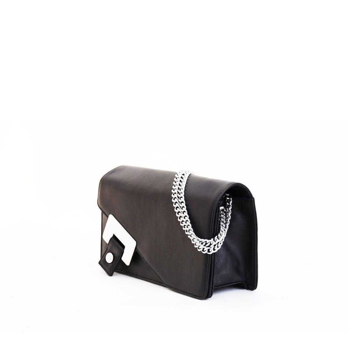 bda8ccac7d Tilda Small Shoulder Bag Black – Lumi Accessories